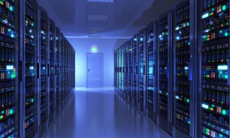 Serverpark in Duitsland